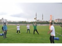 """Kars'ta """"Avrupa Spor Haftası"""" etkinlikleri düzenlendi"""