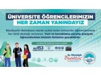 Kayseri Büyükşehir Belediyesi, üniversitelileri yalnız bırakmıyor