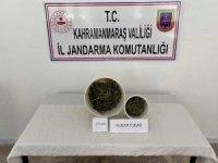 Kahramanmaraş'ta bir evin kilerinde uyuşturucu ele geçirildi