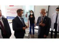 Japonya'dan Karabük'e gezici sağlık aracı hibe edildi
