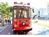 Ordu'da nostaljik tramvay keyfi