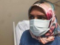 """Hem kanseri hem korona virüsü yendi: """"Ben bu hastalığı yeneceğim dedim"""""""