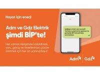 Adm ve Gdz Elektrik BİP ile iletişim kanallarını artırıyor