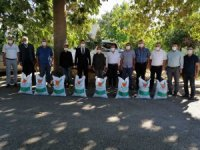 Sumbas'ta çiftçilere 3 ton fiğ tohumu dağıtıldı