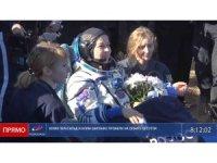 İlk uzay filmi için Uluslararası Uzay İstasyonu'na giden Rus ekip Dünya'ya döndü
