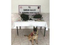 Jandarma uyuşturucu ve ruhsatsız tabanca ele geçirdi: 1 gözaltı