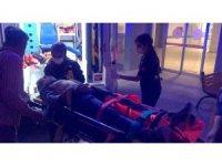 Okul inşaatında asansör boşluğuna düşen işçi ağır yaralandı