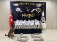 Van'da bir haftada 357 kilo uyuşturucu ele geçirildi