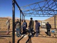 Bingöl'de 9 adet hayvan gölgeliğinin yapımı tamamlandı