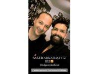Ünlü şovmen Tolga Çevik askerdeki koğuş arkadaşıyla Bursa'da buluştu