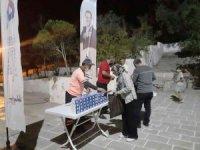 Mersin'de Mevlid Kandili'nde 20 bin kandil simidi dağıtıldı