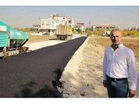 Aktoprak Mahallesi'nde yeni yollar asfaltlanıyor