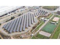 Üretim üssüne güneş enerjisi tesisi kuruldu, yılda 1616 ağaç kurtarılacak