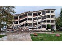 Mudanya Hükümet Konağı yıkıldı