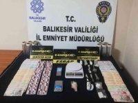 Balıkesir'de 19 şahsa uyuşturucu operasyonu