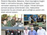 Selçuk Bayraktar ve Haluk Bayraktar'ın babası Özdemir Bayraktar hayatını kaybetti