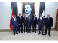 Anayasa Mahkemesi Başkanı Arslan, Vali Ayyıldız ve Başsavcı İrcal'ı ziyaret etti