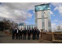 Bingöl Belediyesi yeni hizmet binası büyük oranda tamamlandı