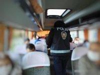 2 günlük denetimlerde 49 aşısız yolcu tespit edildi