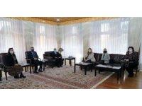 Rektör Çomaklı, ABD Ankara Büyükelçiliği yetkililerini ağırladı