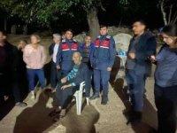 Ormanda kaybolan yaşlı adam bulundu