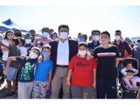 Başkan Avcı çocuklara verdiği sözü tuttu