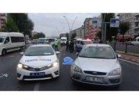Kayseri'de otomobilin çarptığı bisiklet sürücüsü hayatını kaybetti