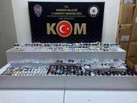 Samsun'da 436 adet gümrük kaçağı gözlük ile 124 adet saat ele geçirildi