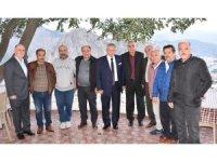 Başkan Sarı 41 yıllık asker arkadaşlarını ağırladı