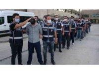 Vurgun operasyonunda 9 tutuklama