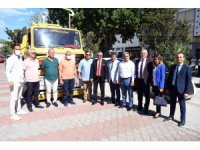 KETOB'dan Kemer Belediyesine arazöz bağışı