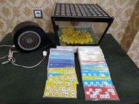 Dernek lokallerinde kumar oynayan 98 kişiye 130 bin 928 lira idari para cezası