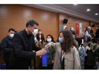 Başkan Kocaman, Avrupalı öğrencileri ağırladı
