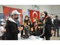 Bafra'da bilim fuarı: Öğrencilerin eserleri görücüye çıktı