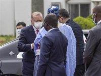 Cumhurbaşkanı Erdoğan, Nijerya'da: 'İş birliğimizi güçlendiriyoruz'