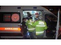 Alkollü sürücü kırmızı ışıktaki araçlara çarptı: 1 yaralı