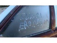 Erzurum'da termometreler eksi 5'e düştü, araç camları buz tuttu