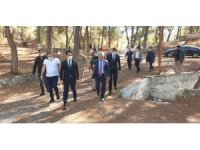Erzin'e Şahin Tepesi Tabiat Parkı kuruluyor