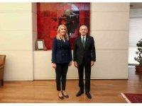 Başkan Doğan, Kılıçdaroğlu'nu ziyaret etti