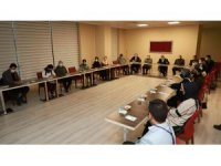 Atatürk Üniversitesinin Covid-19 Aşı çalışmalarıyla ilgili bilgilendirme toplantısı düzenlendi