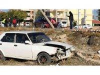 Konya'da iki otomobil çarpıştı: 1 yaralı