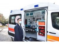 Sındırgı 112 Acil Sağlık İstasyonuna yeni ambulans