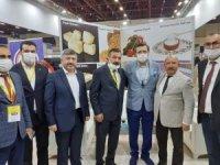 Gediz'in yöresel ürünleri Antalya'da tanıtıldı