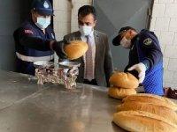 Sungurlu'da ekmek ve pide fırınları denetlendi