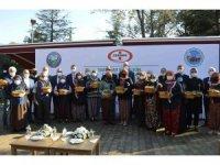 Osmanlı Çileği fideleri üreticilerle buluştu, coğrafi işaret aldı