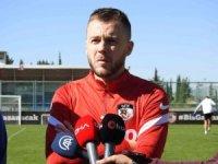 """Alexandru Maxim: """"Daha istikrarlı olmamız gerekiyor"""""""