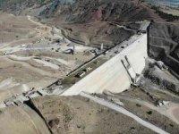 Gündüzler Barajı tamamlanmak üzere