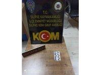 Silifke'de bir kişi uyuşturucu hap satarken yakalandı