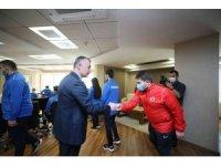 Başkan Büyükakın, İşitme Engelli Judo Milli Takımını ağırladı