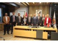 CHP heyeti Atakum'da gündemi değerlendirdi
